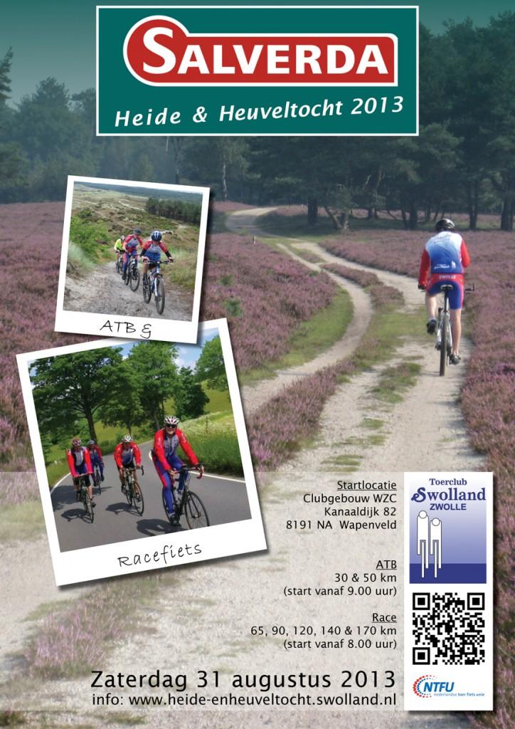 Flyer Heide en Heuveltocht 2013