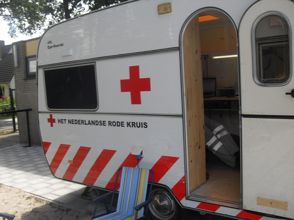 Rode Kruis: altijd present!