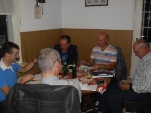 De commissie RVTT in vergadering