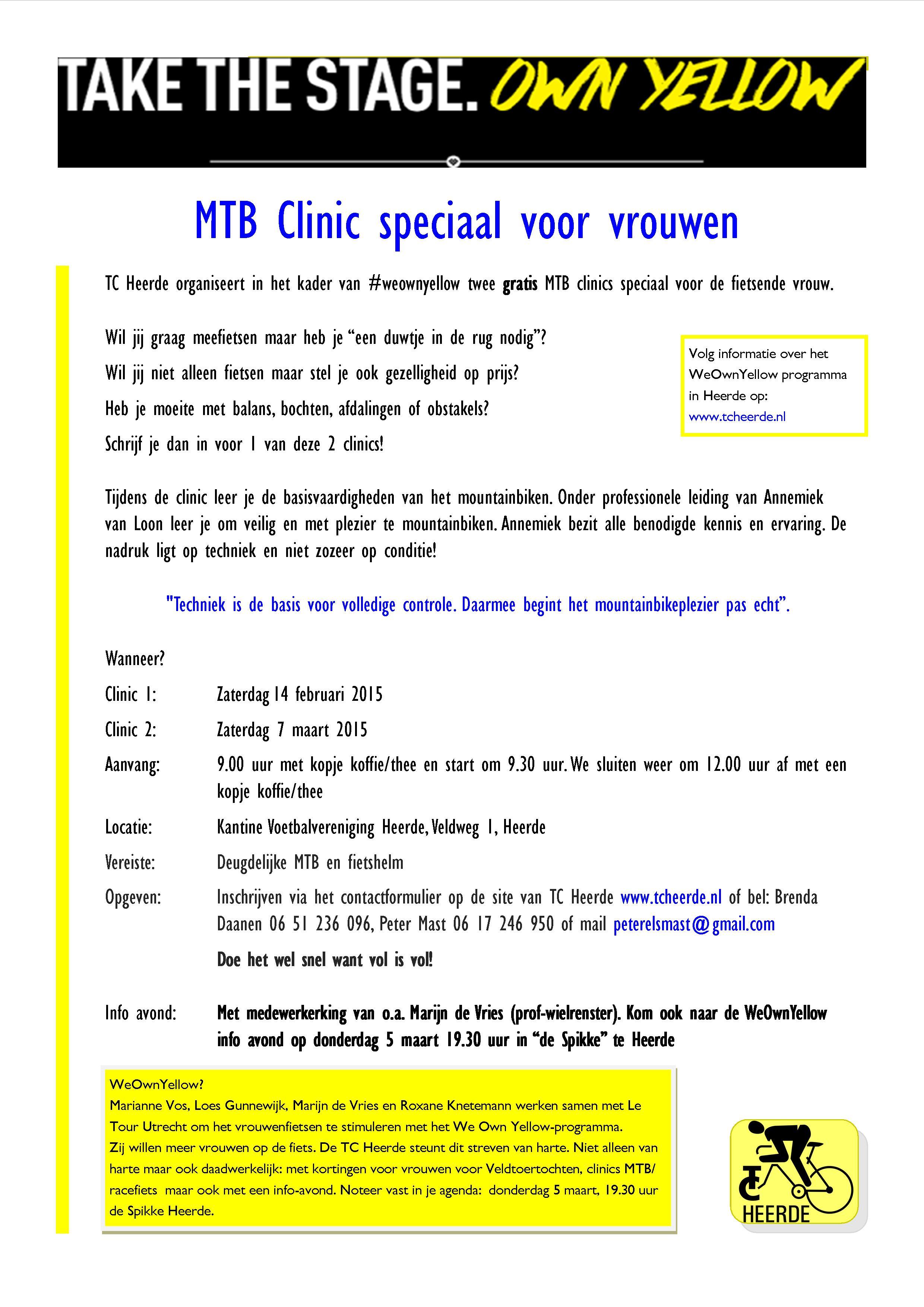 Clinic voor vrouwen flyer