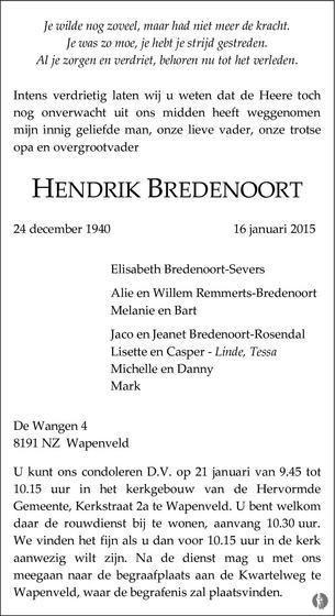 Henk Bredenoort