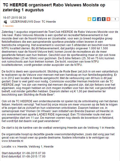 RVM 2015 Veluweland